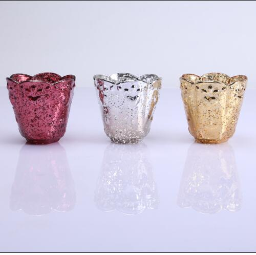 Colored Luxury Candle Container