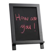 Novo Black Small Blackboard com Cavalete para Memo