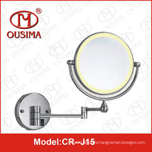Double Sided Wall Mounted Round Folding Makeup Mirror