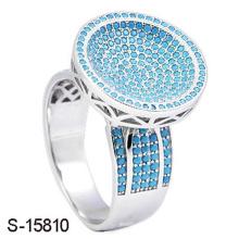 Новый дизайн ювелирных изделий мода 925 стерлингового серебра кольцо с бирюзой камень