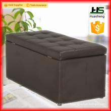 Modern leather ottoman chair