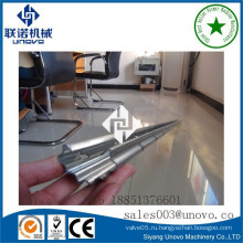 0,4 мм оцинкованная стальная овальная труба