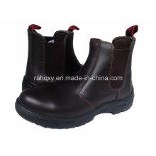 Chaussures de sécurité Style décontracté en cuir lisse brillant (HQ01004)