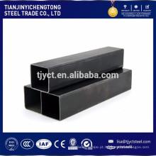 SS400 Q235 ST37 soldou a tubulação de aço quadrada do carbono da tubulação de aço / tubo