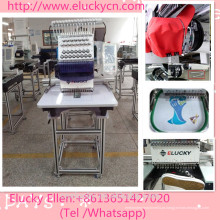 1200SPM High Speed Embroidery 15 Needles One Head Embroidery Machine