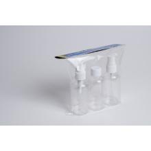 3PCS 75ml Travel Bottle Set with Sprayer (EF-TK02)