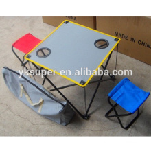 Folding Portable Picnic Chair and Table Set for outdoor camping