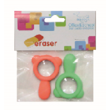 Colorful Magnifying Glass Eraser