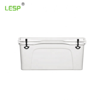 Rotomolded insulated plastic medical cooler box