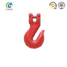 Alloy steel electric clevis grab hook