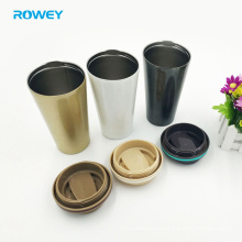 304 stainless steel sport vacuum insulated coffee tumbler mug with lid