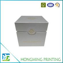 Luxury Art Paper Gold Logo Watch Box Packaging
