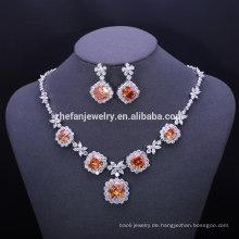 Weihnachtsschmuck Modeschmuck Frankreich Messing Halskette Kette großen Schmuck Sets für Hochzeit Mode-Accessoires Lager
