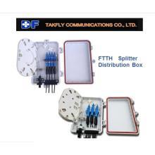 avec répartiteur 4 cordons Fiber Optic Terminal Box