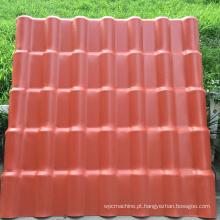 telha de telhado do upvc da isolação térmica 1050mm