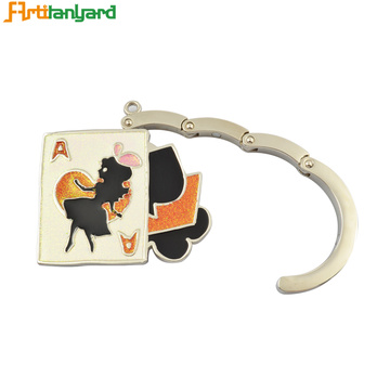 Square Bag Hanger With Customized Plating