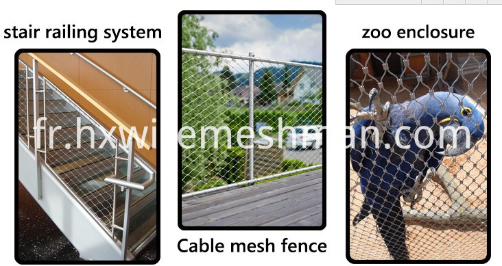 cable mesh fence