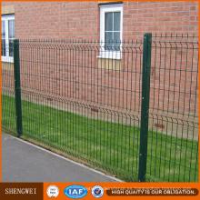 3 dobleces valla de zona de jardín de malla de alambre soldado