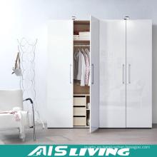 Apartamento Proyecto Dormitorio Armario Tire Diseño de la puerta (AIS-W486)