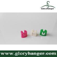 Индивидуальный вешалка для вешалок для показа магазина - ABS / PP / PS (GLPZ011)