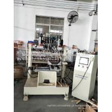 Bobina do CNC de 4 linhas centrais da escova 2 da perfuração de fio e de 1 máquina tufting