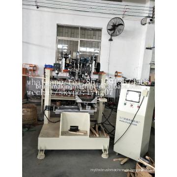 4 Achsen CNC-Spule aus Drahtbürste 2 Bohren und 1 Tufting-Maschine