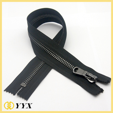 Custom Puller Dark Nickel Metal Zipper