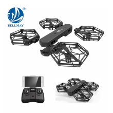 2.4GHz Remote Control Self Assemble Selfie Box Drone with Live Camera Toys