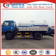 Dongfeng 6-10cbm preço camião tanque de água