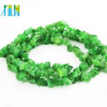Atacado pedra preciosa pedras preciosas chips verde StoneBeads