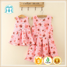 Hot sale Baby Breathable Plus Size Fashion Lady Dress For Women Clothes One Piece Cocktail Women Dress Floral Printed Dresses