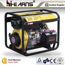 Prix de générateur de soudeuse à moteur diesel portable (DG6000EW)