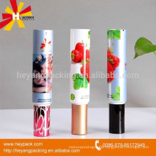 aluminum and plastic brush tube