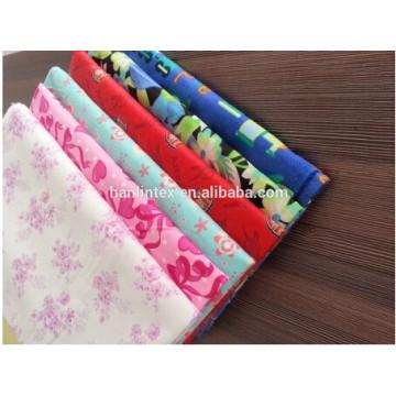 100% хлопковая фланелевая ткань C20S * C10S * 40 * 42 * 58/59 '' для детской одежды