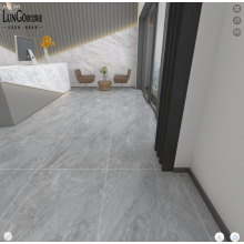 LUNGO Wear-Resistant 800x800 Dark Marble Floor Ceramic Tiles