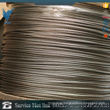 2016 Hot selling 201 plastic coated stainless steel wire rope
