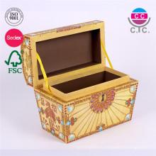пользовательские новый стиль perrty ханде сделал дизайны бумаги подарочной коробке