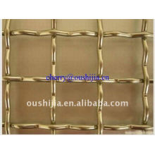 Galvanized Crimped Wire Mesh(factory&exporter)