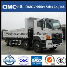 Camión volquete Hino 350HP 8X4 Euro IV