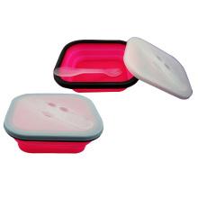 Faltbare Lunchbox aus Silikon