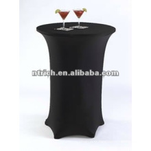 Charming lycra spandex cocktail bar table cloth,table cover