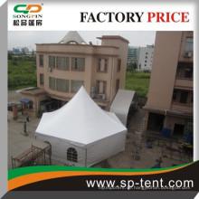 Aluminium strukturelles wasserdichtes Sechskant-Pagodenzelt für Hinterhofparty 6x12m