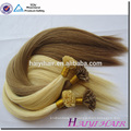 2016 New Arrival Last 12 Months Double Drawn Full Cuticle 10A Nail Tip/U Tip Keratin Human Hair Extension