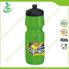 750ml BPA Free Squeeze Kunststoff Sport Flasche / Wasserflasche