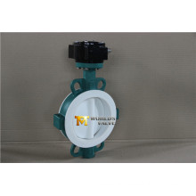 Full PFA Coating Wafer Type Butterfly Valve with Ce ISO Wras Approved (CBF04-TA01)