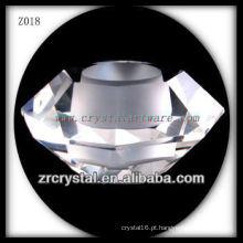 Castiçal de cristal popular