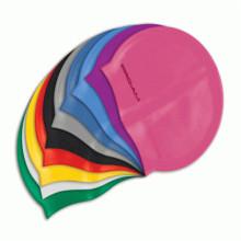 Sombrero de natación de silicona colorido ecológico