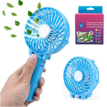 Foldable Portable Desktop Electric Fan with USB Rechargeable