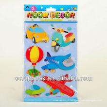 DIY crianças bonitos dos desenhos animados adesivos de decoração de quarto