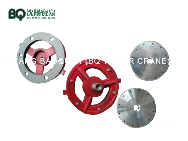 Tower crane Torque Motor brake disc
